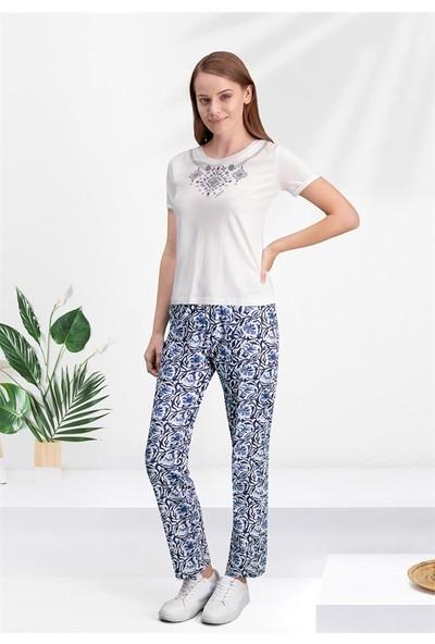 Arnetta Kadın 2Li Pijama Takım Kısa Kollu