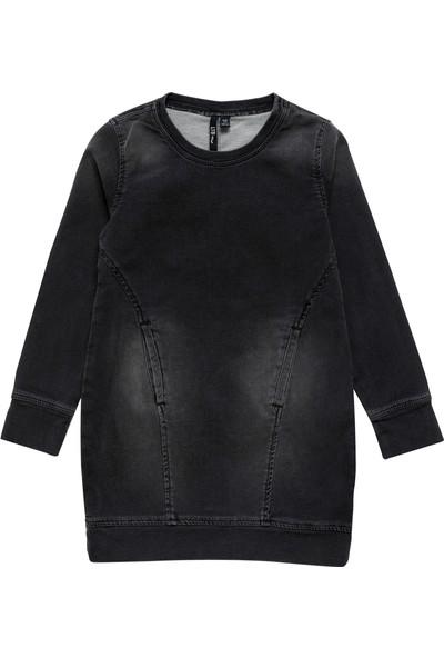 LTB Alisha G Grey Cloud Wash Kız Çocuk Pantolon