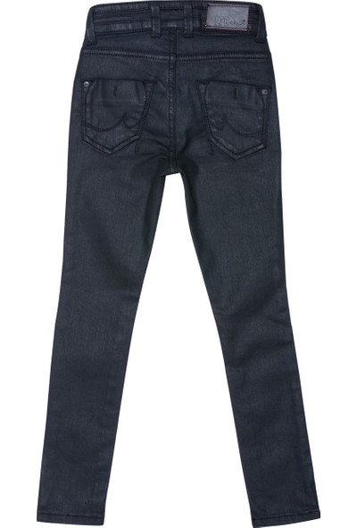 LTB Julita Hw G Black Coated Wash Kız Çocuk Pantolon