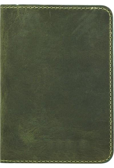 Plm Dalfsen Gerçek Deri Kartlık Yeşil