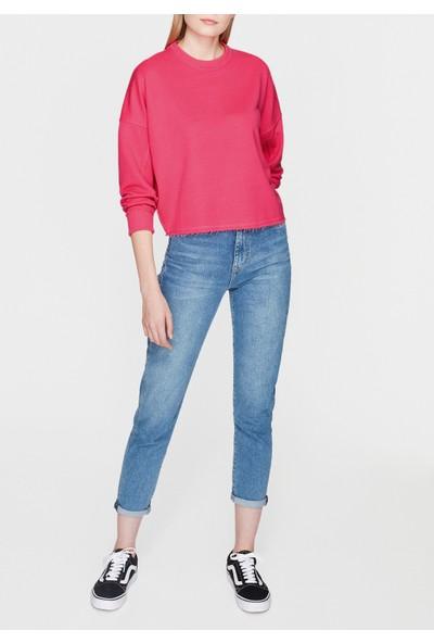 Mavi Kadın Neon Pembe Sweatshirt