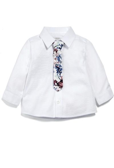 Mamas & Papas Navy Waistcoat & Tie Set