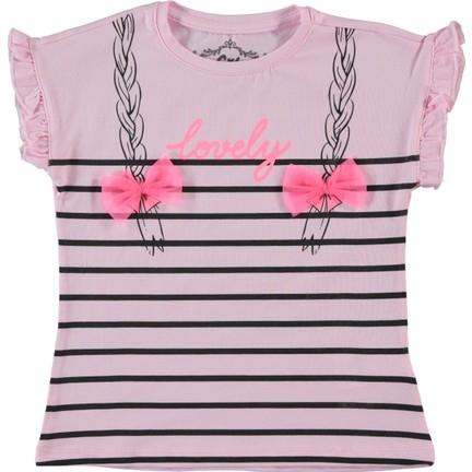 be4e2e8c8acc4 Cvl Kız Çocuk Tişört 2-5 Yaş Pembe Fiyatı - Taksit Seçenekleri
