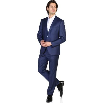 4064074e459bd Morven Slim Fit Takım Elbise Mavi Fiyatı - Taksit Seçenekleri