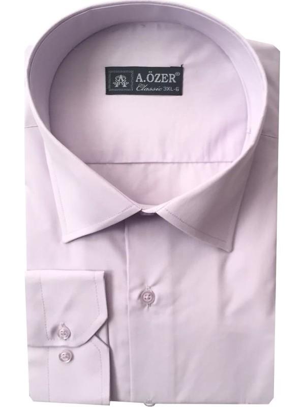 Atilla Özer Battal Kesim Uzun Kol Gömlek - 988