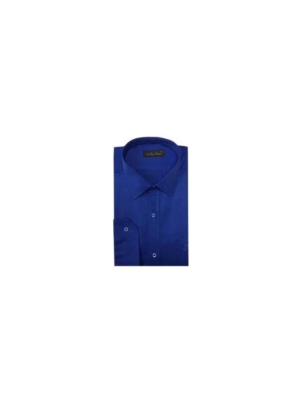 Atilla Özer 0922 Pamuk Saten Slim Fit Uzun Kol Gömlek