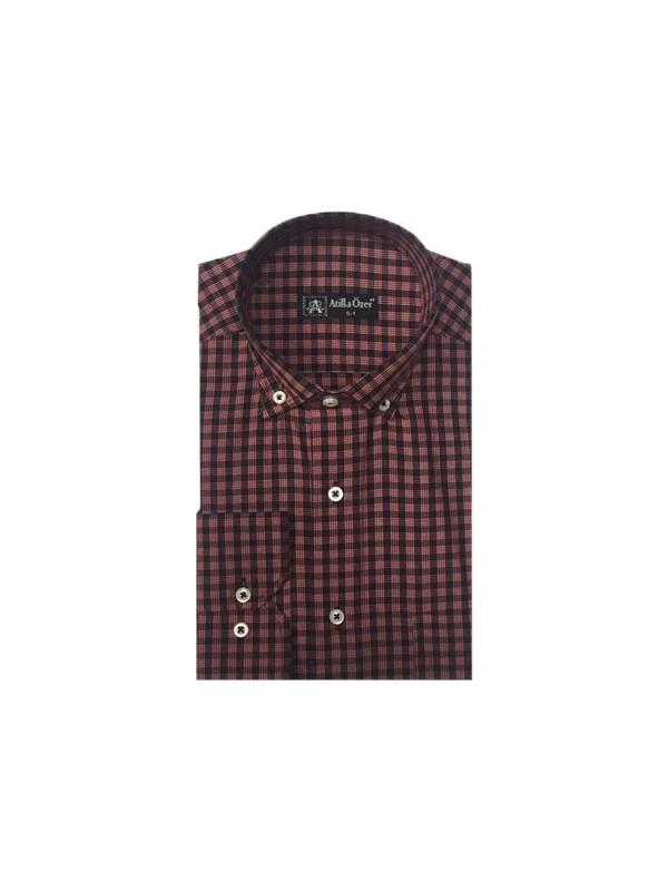 Atilla Özer 0022 Uzun Kol Klasik Erkek Gömlek