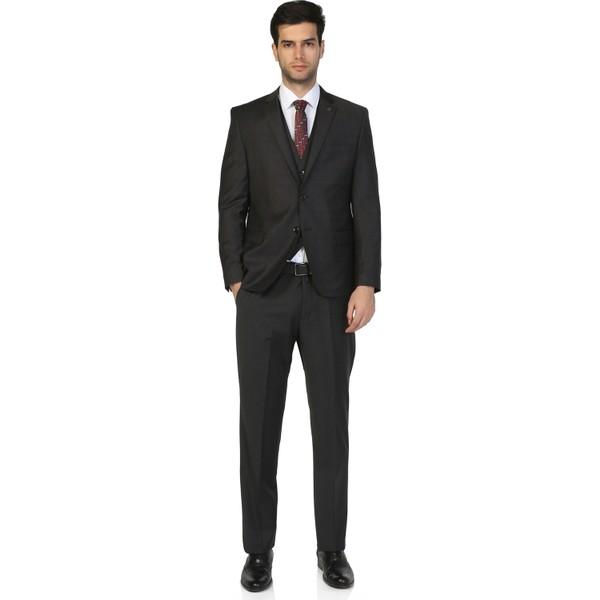 e7382123a29fa Morven Altinyildiz Yelekli Takım Elbise Siyah - 54 Fiyatları ...