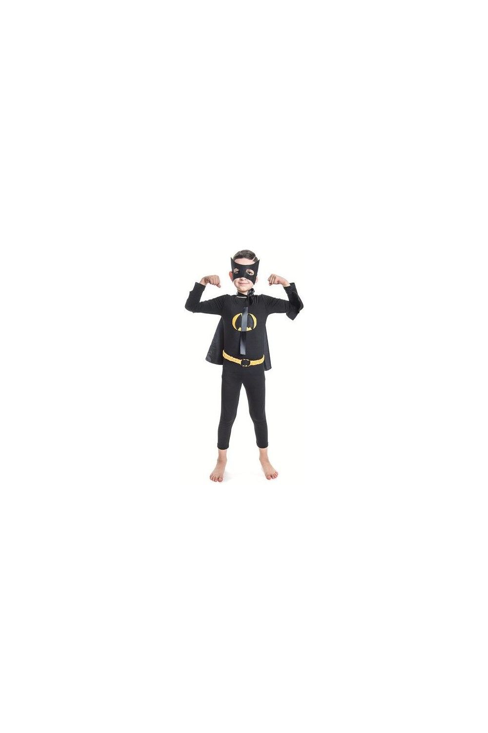 Bebebebek Kids Batman Costume with Mask
