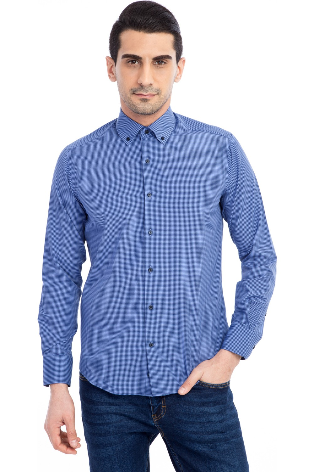 Kigili Men's Checkered Shirt