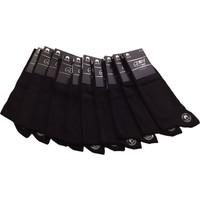 Emre 10 Lu Siyah Ince Yazlık Erkek Çorap