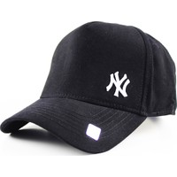 Capstories Ny Beyaz Logolu Snapback Şapka