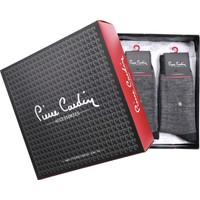 Pierre Cardin Kışlık Termal Yünlü Erkek Çorap 12'li Paket Antrasit 504