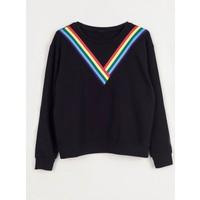 Coten Concept Yakası Renkli Triko Sweatshirt