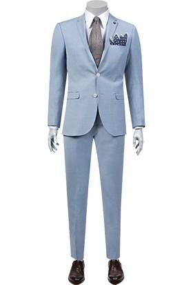 Tween Slim Fit Mavi Takım Elbise