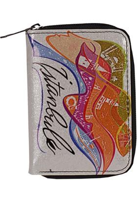 Zigga 970 Kadın Suni Deri Cüzdan Desenli