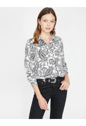 6ff719c32545d Koton Kadın Gömlekler ve Modelleri - Hepsiburada.com