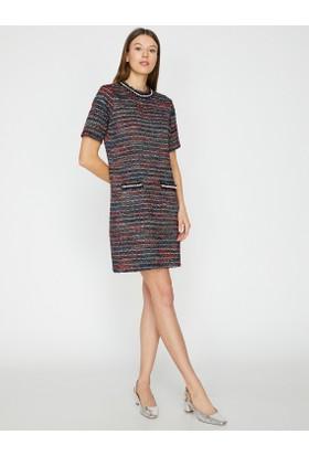 388ed905015e6 Koton İnci Detaylı Elbise Koton İnci Detaylı Elbise ...