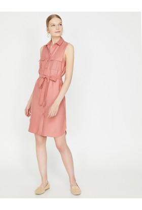 519dac7a599a0 Koton Düğme Detaylı Elbise Koton Düğme Detaylı Elbise ...