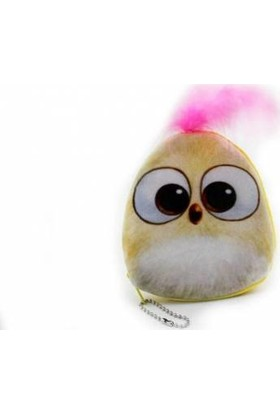 2Mstore Angry Bird Bozuk Para Cüzdanı Krem