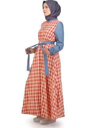 Sofmina Elbise Nvsy18Y023 - Kırmızı