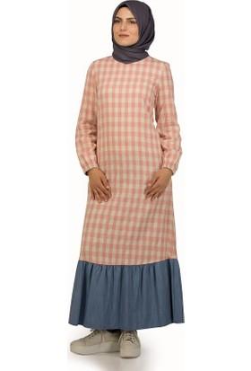 Sofmina Elbise Nvsy18Y014 - Pudra