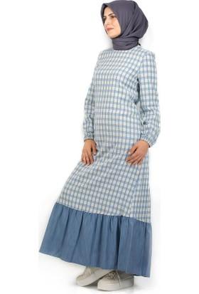 Sofmina Elbise Nvsy18Y014 - Mavi