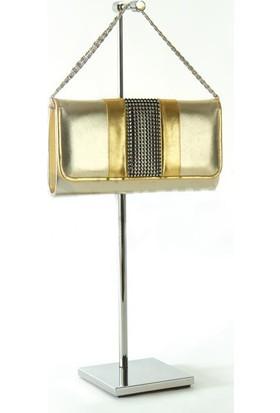 Simge Yapı Dekorasyon Ayarlanabilir Metal Çanta Askılığı Krom Kaplama Yükseklik Ayarlı