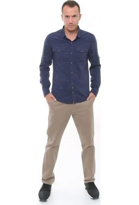 Cazador Lacivert Erkek Uzun Kol Gömlek