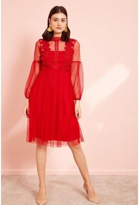 ffbb3d3c12b9a Kirmizi Abiye Elbise Modelleri ve Fiyatları & Satın Al