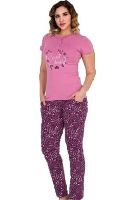 Berland Kadın 3108 Kısa Kol Pijama Takım