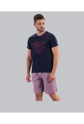Ödül 9006 Erkek T-Shirt Şort Pijama Takımı