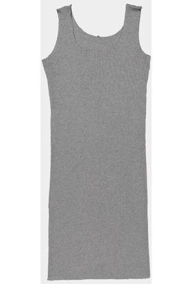 Coten Concept Yanları Şeritli Atlet Elbise