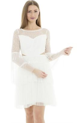 ed38bddd215e2 Beyaz Abiye Elbise Modelleri ve Fiyatları & Satın Al
