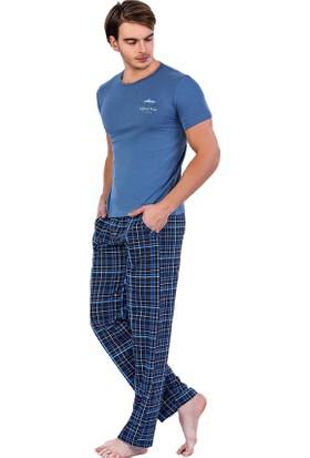 Berland 3706 Erkek Yazlık Kısa Kol Pijama Takım