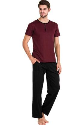 Berland 3753 Erkek Yazlık Kısa Kol Pijama Takım