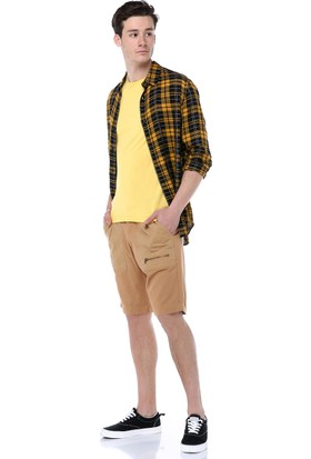 Markalook Erkek Kirçilli Basic T-Shirt