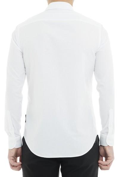 Emporio Armani Erkek Gömlek 21Sm0L 212F7 036