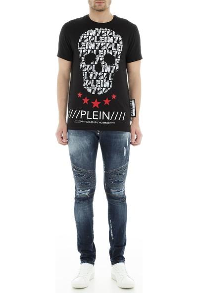 Philipp Plein Jeans Erkek Kot Pantolon S19C Mdt1421 Pde004N 085A