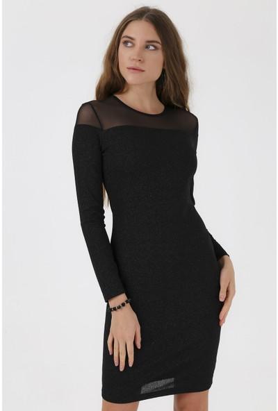 Jument 4224 Siyah Elbise