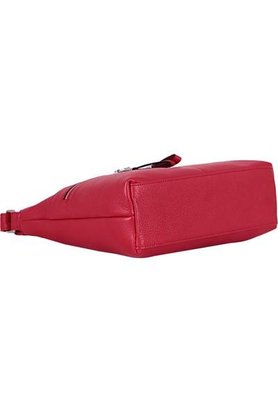 Yılka 436 Kadın Deri Omuz & Çapraz / Postacı Çanta Kırmızı