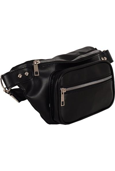 Zigga 2650 Kadın Bel Çantası Siyah
