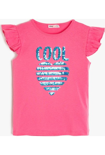 Koton Pul Detaylı T-Shirt