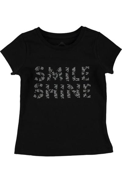 Civil Kız Çocuk Tişört 2-5 Yaş Siyah