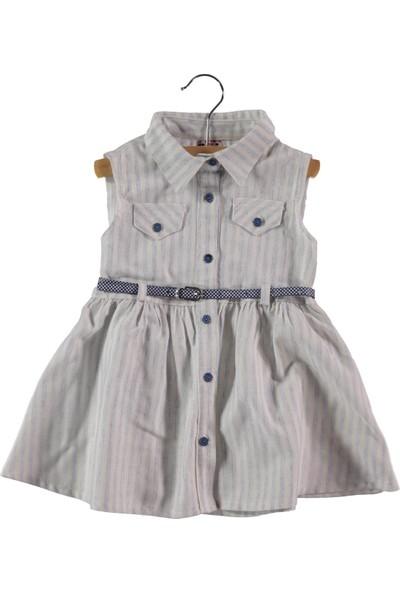 Civil Kız Çocuk Elbise 2-5 Yaş Mavi