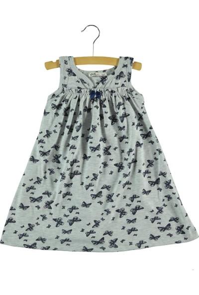 Civil Kız Çocuk Elbise 2-5 Yaş Gri