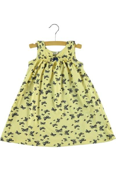 Civil Kız Çocuk Elbise 2-5 Yaş Sarı