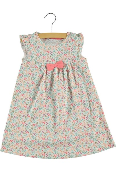Civil Kız Çocuk Elbise 2-5 Yaş Ekru
