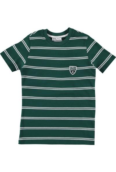 Civil Erkek Çocuk Tişört 6-9 Yaş Yeşil