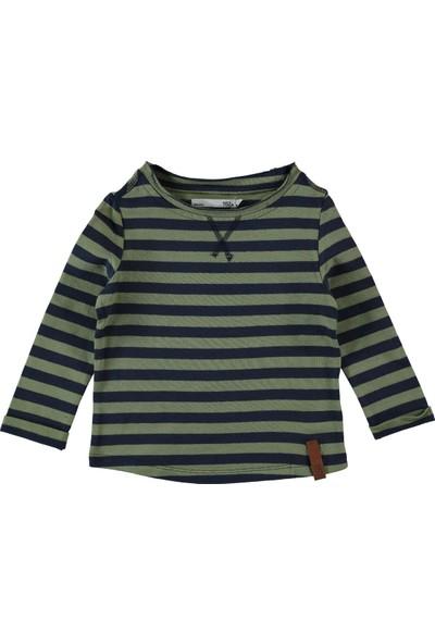 Larissa Erkek Çocuk Sweatshirt 2-12 Yaş Yeşil